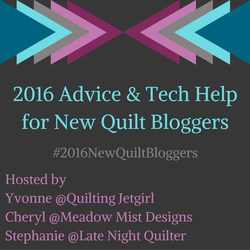 2016 New Quilt Bloggers